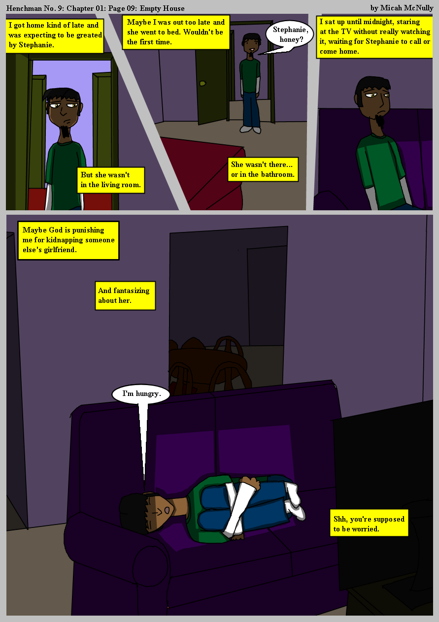 Ch01 Page09: Empty House